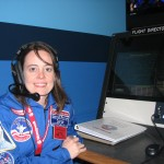 Flight Director for a mission at space academy