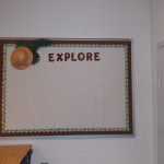 Explore bulletin board