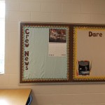 Crew News bulletin board