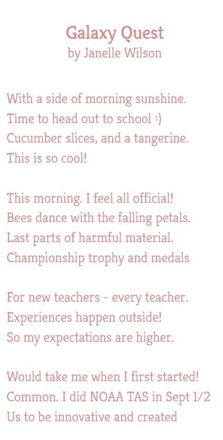 Make a poem from your tweets using Poetweet!