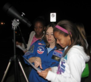 Learning and Identifying lunar features.