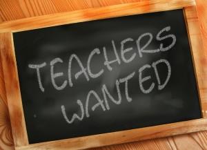 teachers wanted